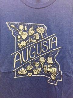 Augusta Tee Shirt – Blue
