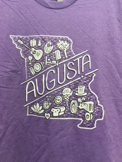 Augusta Tee Shirt – Purple