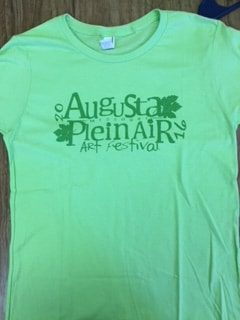 Plein Air Tee Shirt – Mint Green