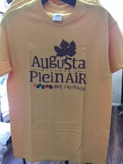 Plein Air Tee Shirt – Yellow
