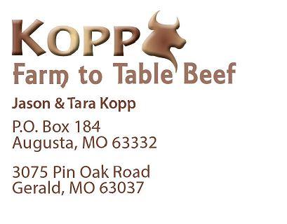 Kopp Farm to Table Beef