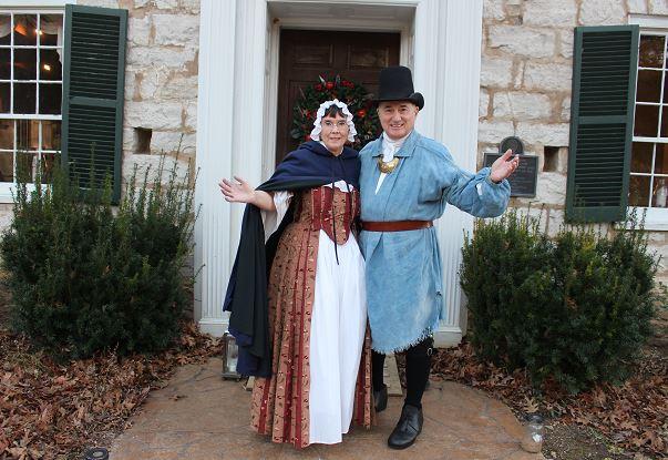 Daniel Boone and Rebecca
