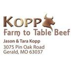 Kopp Farm to Table Beef SQ