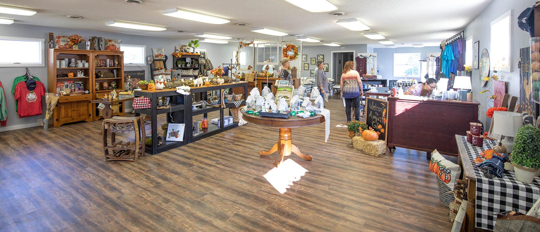 Augusta craft shop slide